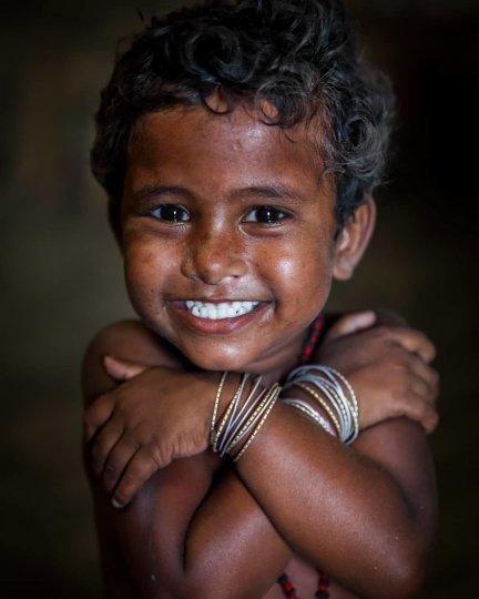 Детские портреты от фотографа Моу Айши - №19