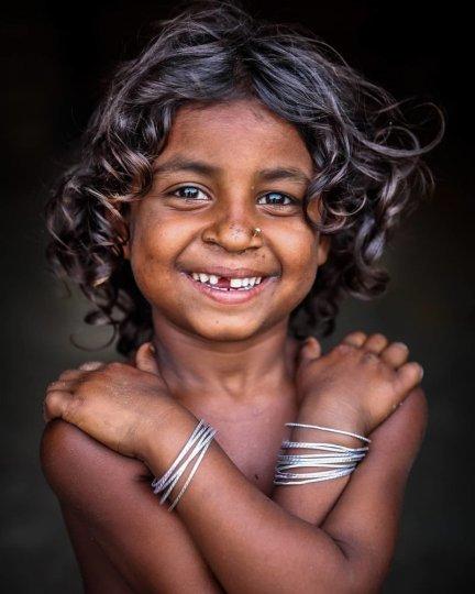 Детские портреты от фотографа Моу Айши - №20
