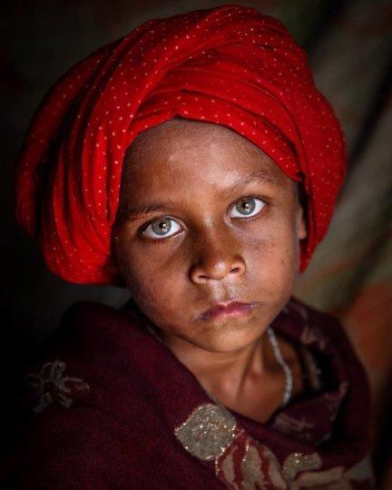 Детские портреты от фотографа Моу Айши - №22