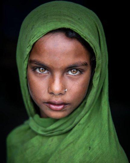 Детские портреты от фотографа Моу Айши - №23