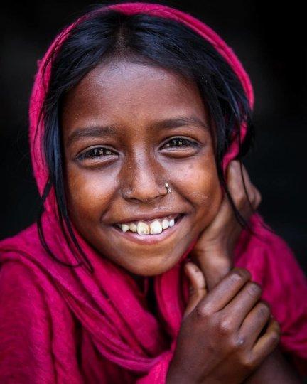 Детские портреты от фотографа Моу Айши - №24
