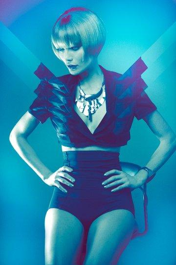 Экстравагантные фотографии моды Брайана Зиффа - №17