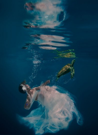 Подводный фотограф-портретистДженн Бишоф - №16