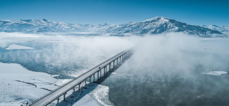 Мост в облаках. Автор фото: Ли Вэй