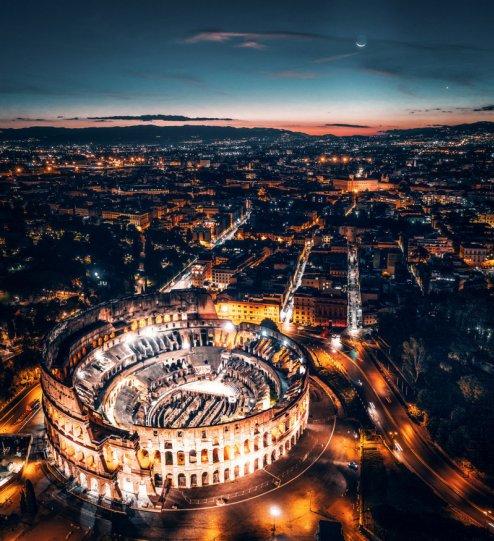 Колизей, Рим. Автор фото: Мауро Пальяй.