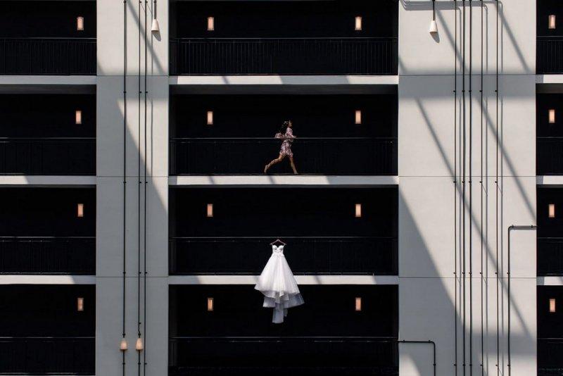 Категория «Сольный свадебный портрет». Автор фото: Пол Ву, США.
