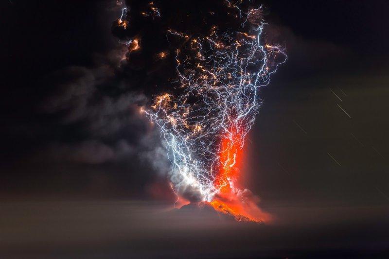 """Франциско Негрони """"Вулканы Чили"""" - №1"""