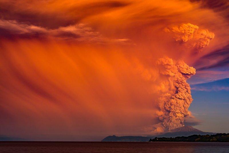 """Франциско Негрони """"Вулканы Чили"""" - №7"""