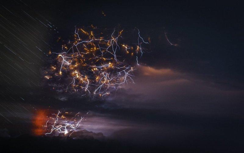 """Франциско Негрони """"Вулканы Чили"""" - №9"""