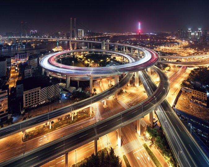 Архитектура Дубая и Шанхая в фотографиях Йенса Ферстерра - №16