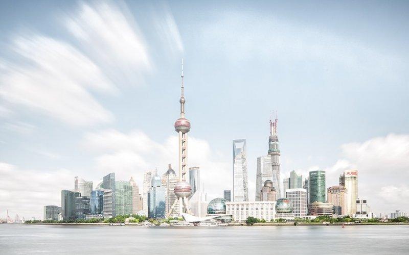 Архитектура Дубая и Шанхая в фотографиях Йенса Ферстерра - №7