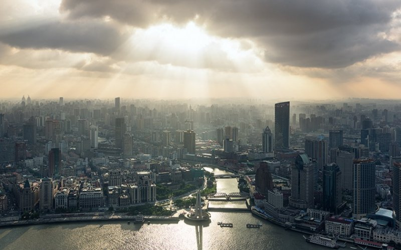 Архитектура Дубая и Шанхая в фотографиях Йенса Ферстерра - №10