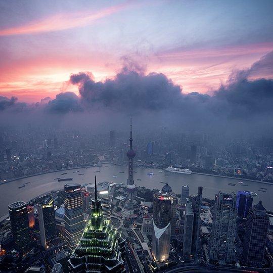 Архитектура Дубая и Шанхая в фотографиях Йенса Ферстерра - №17