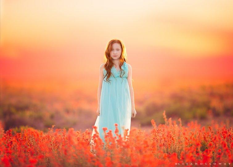 Детские образы в фотографиях Лизы Холлоуэй - №4
