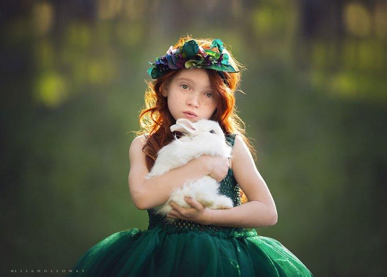 Детские образы в фотографиях Лизы Холлоуэй - №8