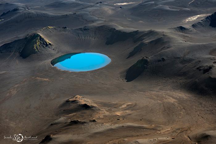 Пейзажи Исландии в аэрофотографиях Сары Мартинет - №4