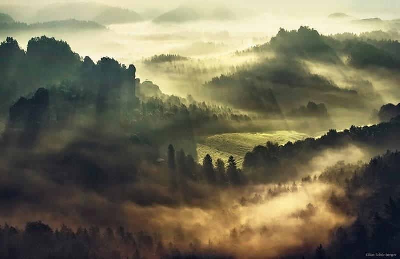 Пейзажи Килиана Шоенбергера - №18