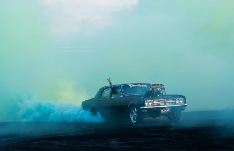 Захватывающие кадры с Burnout Competition - №1