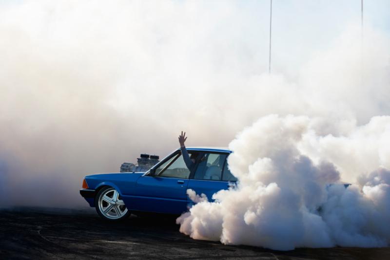 Захватывающие кадры с Burnout Competition - №5