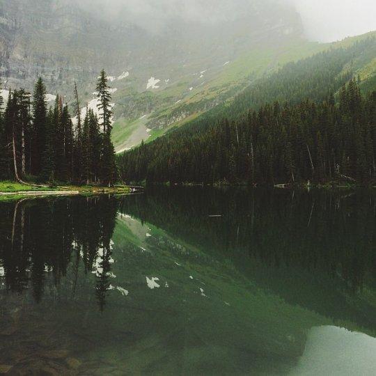 Красивые пейзажи, снятые на телефонную фотокамеру - №18