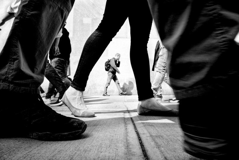 Уличный фотограф и журналист Алан Шаллер - №7