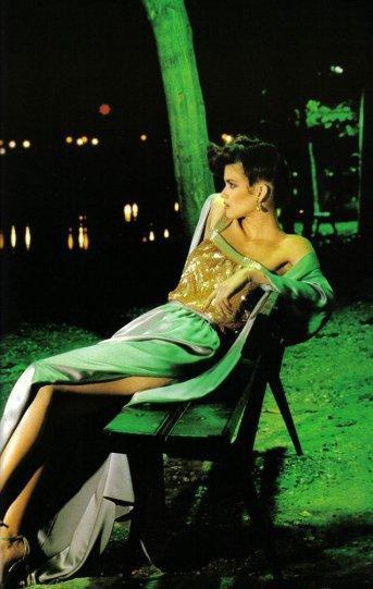 Модель Джиа Каранджи в фотографиях 1970-80-х годов - №6