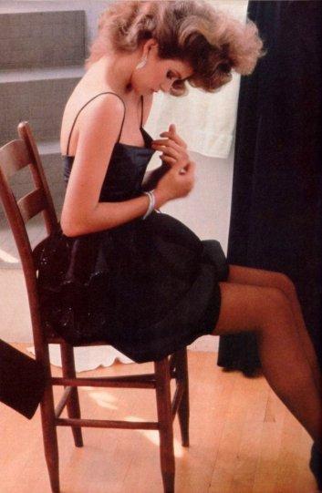 Модель Джиа Каранджи в фотографиях 1970-80-х годов - №26