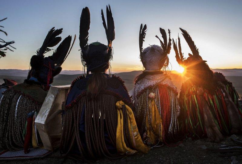 Фоторепортаж: шаманские ритуалы Монголии - №1