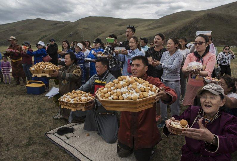 Фоторепортаж: шаманские ритуалы Монголии - №3