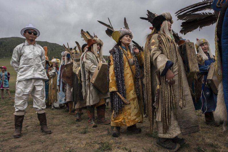 Фоторепортаж: шаманские ритуалы Монголии - №11