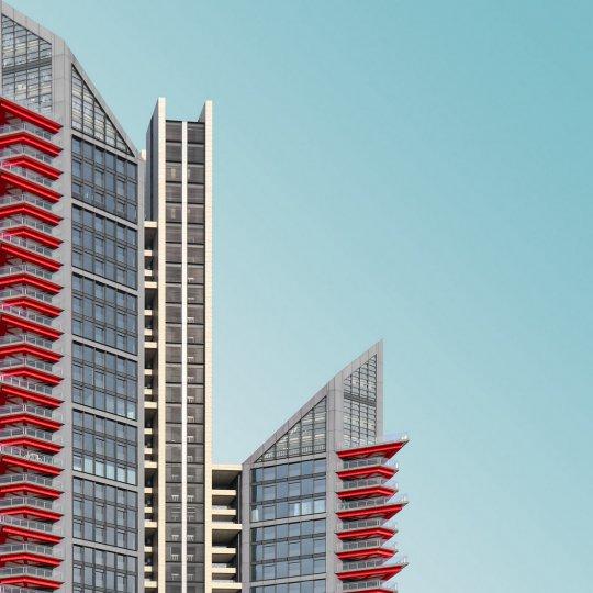 Архитектурные фотографии Криса Провоста - №18