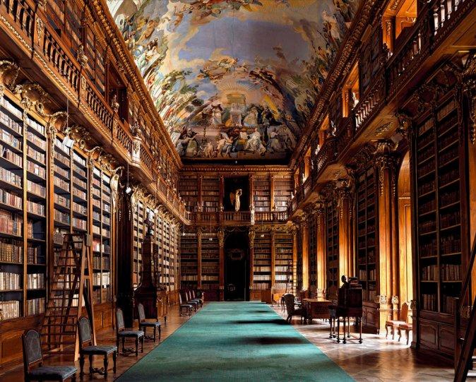 Страговская библиотека. Прага, Чехия.