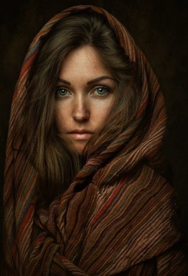 Женская красота в работах Захара Райза - №13