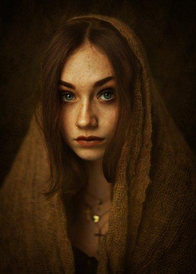 Женская красота в работах Захара Райза - №10