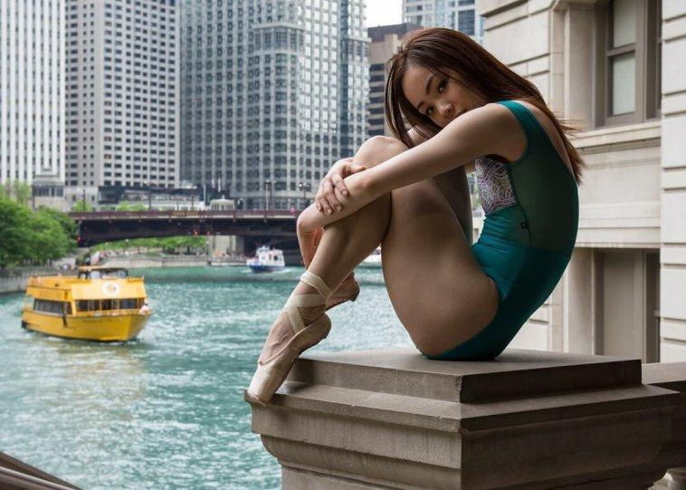 Балерины на улицах - №2