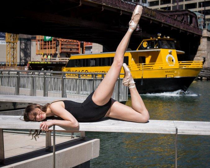 Балерины на улицах - №10