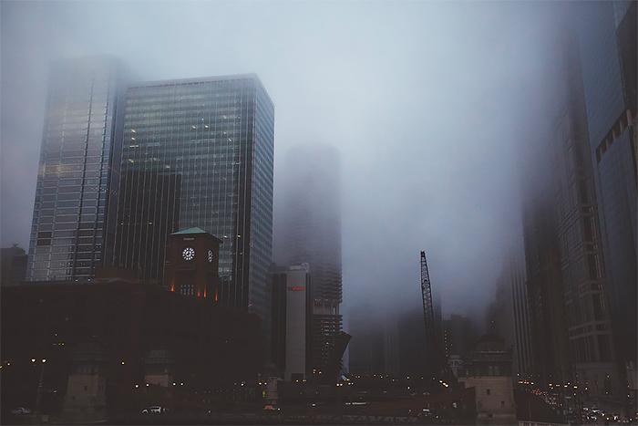 Туманные мегаполисы - №8