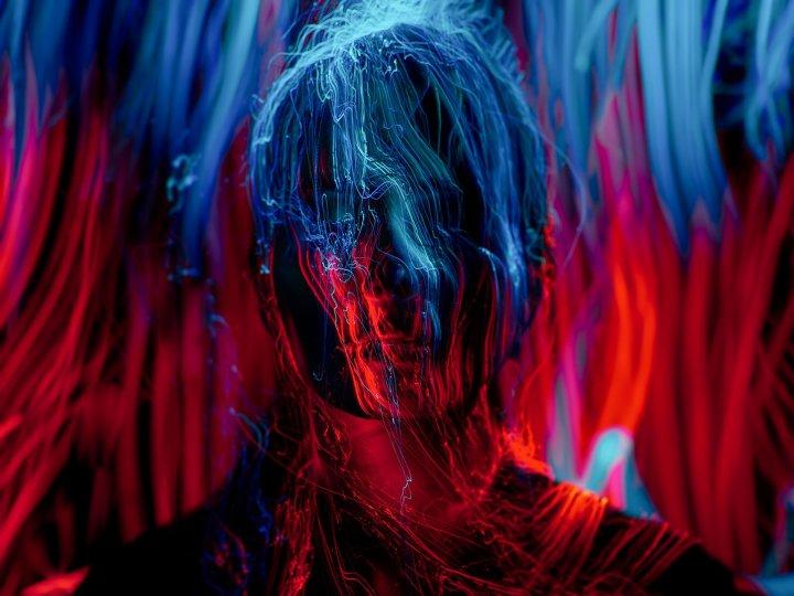 Портреты втехнике световой кисти - №15