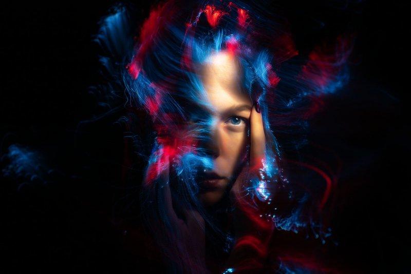 Портреты втехнике световой кисти - №12