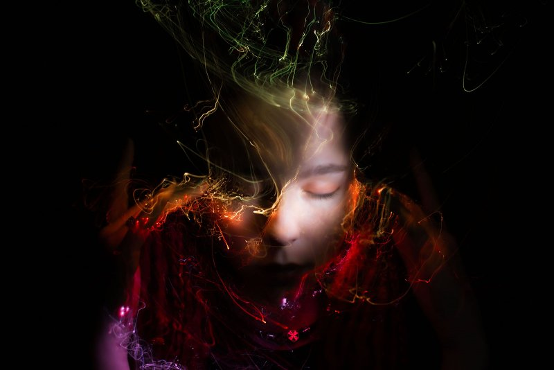 Портреты втехнике световой кисти - №17