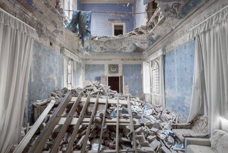 Заброшенные дворцы Европы - №1