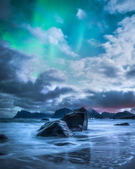Красота северного сияния - №1