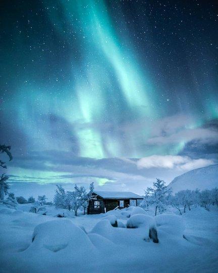 Красота северного сияния - №10
