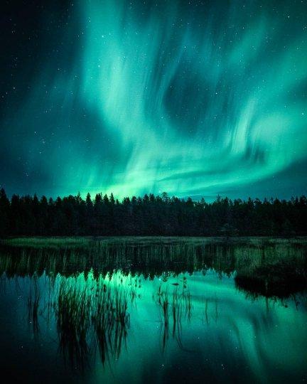 Красота северного сияния - №16