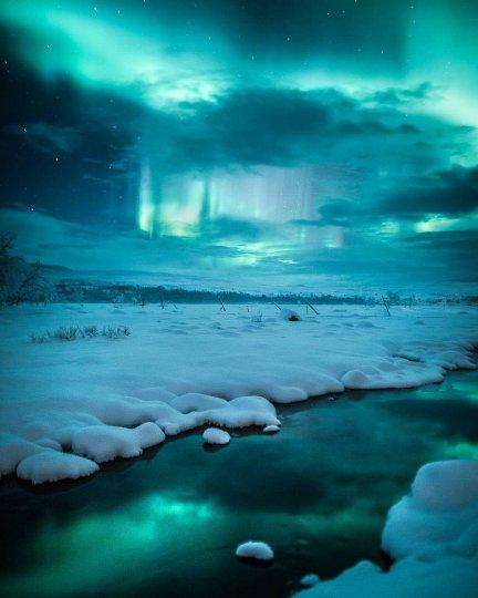 Красота северного сияния - №21