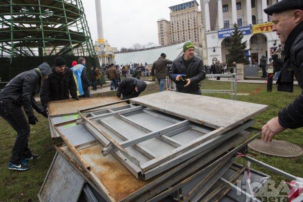 Новости в фотографиях - Украина. ЕвроМайдан 2013 - №8