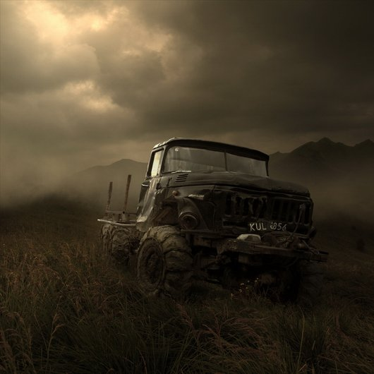 Атмосферные фото пейзажи от Томаша Зачщенюка - №12