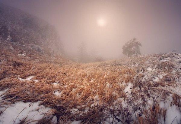 Зимние фото пейзажи из Крыма - №4