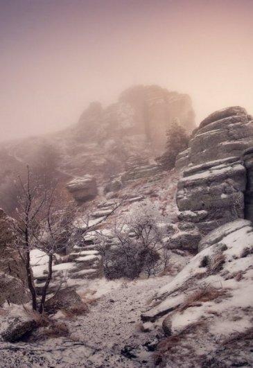 Зимние фото пейзажи из Крыма - №8