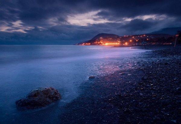 Зимние фото пейзажи из Крыма - №16